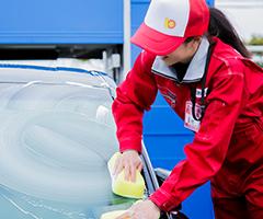 全自動洗車機+手洗いで集中洗車!