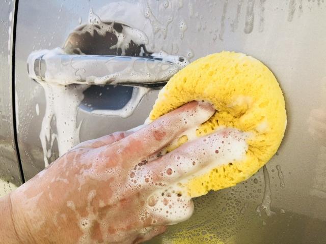 洗車手洗い
